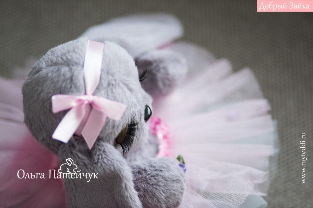 Плюшевые игрушки зайчики - Зайка Балерина